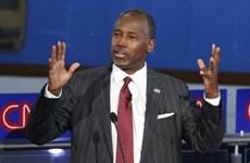 Bầu cử Mỹ: Ứng cử viên Carson vượt lên dẫn đầu trong cuộc đua