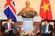 Iceland thúc đẩy hoàn tất đàm phán, ký kết Hiệp định Việt Nam-EFTA