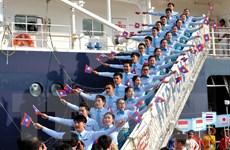 Tàu Thanh niên Đông Nam Á và Nhật Bản lần thứ 42 rời Việt Nam