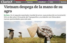 Báo chí Argentina ca ngợi thành tựu nông nghiệp của Việt Nam