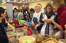 Việt Nam dự hội chợ từ thiện mùa Đông các đại sứ quán ở Moskva