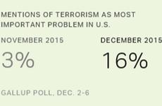 Hãng Gallup: Người dân Mỹ coi khủng bố là vấn nạn hàng đầu