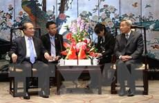 Chủ tịch Quốc hội tiếp Chủ tịch Nhân đại tỉnh Quảng Đông