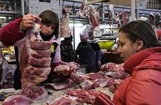 Chính phủ Ukraine cấm nhập lương thực thực phẩm từ Nga