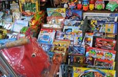 Dù được khuyến cáo nhưng đồ chơi Trung Quốc vẫn tràn lan
