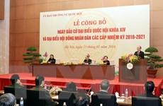 Chính thức công bố ngày bầu cử đại biểu Quốc hội khóa XIV