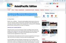 Tân Hoa xã và Kyodo ca ngợi những thành tựu kinh tế Việt Nam