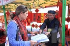 Hà Nội quản lý trình độ viết thư pháp tại Hội chữ Xuân 2016