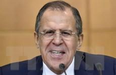 Ngoại trưởng Nga Sergey Lavrov tổ chức họp báo lớn đầu năm 2016