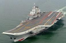 Chuyên gia: Trung Quốc có thể điều tàu sân bay tuần tra Biển Đông