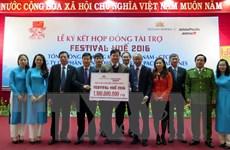 Các hãng hàng không tài trợ 1,1 tỷ đồng cho Festival Huế 2016