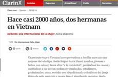 Truyền thông Argentina ca ngợi hình ảnh người phụ nữ Việt Nam