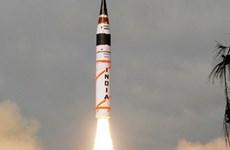 Ấn Độ thử thành công tên lửa đạn đạo mang hơn một tấn chất nổ