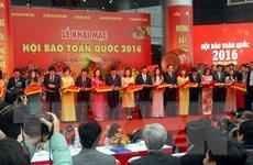 30 tác phẩm về Đại hội Đảng được trao giải tại Hội báo 2016