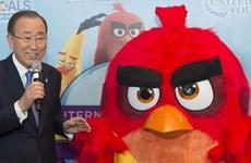 """LHQ """"bổ nhiệm"""" thủ lĩnh trò chơi điện tử Angry Bird làm đại sứ"""