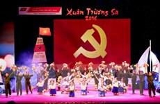 """Đặc sắc chương trình nghệ thuật """"Xuân Trường Sa"""" tại Hà Nội"""