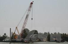 Gần 300 tỷ đồng xây cầu mới thay thế cầu Ghềnh vừa bị sập