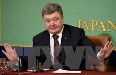Tổng thống Poroshenko tuyên bố Ukraine tiếp tục hướng tới EU