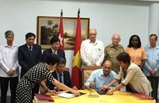 Thúc đẩy hợp tác kinh tế, thương mại và đầu tư Việt Nam-Cuba