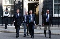 Chính trị gia Anh muốn thành thủ tướng phải công khai đóng thuế