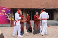 Đưa làn điệu Xoan cổ đến với du khách dịp Lễ hội Đền Hùng 2016