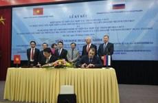 Ký hiệp định Liên Chính phủ tiếp tục thăm dò khai thác dầu khí ở Nga