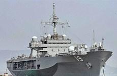Trung Quốc từ chối cho tàu sân bay Mỹ cập cảng Hong Kong
