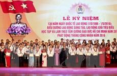 Long trọng tổ chức Lễ kỷ niệm 130 năm Ngày Quốc tế Lao động