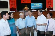 Chủ tịch nước: Sớm đưa TP.HCM thành trung tâm lớn ở Đông Nam Á
