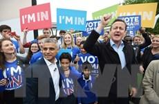 Ngày càng nhiều người Anh nói Không với Liên minh châu Âu