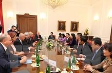 Việt Nam-Cộng hòa Séc thúc đẩy hợp tác giữa hai Đảng Cộng sản