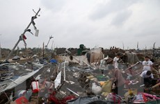 Thủ tướng gửi điện thăm hỏi về vụ lốc xoáy gây tổn thất ở Trung Quốc