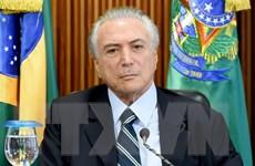 Tổng thống lâm thời Brazil Temer kêu gọi đoàn kết dân tộc