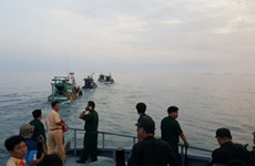 Khởi tố vụ ngư dân vây tàu, bắt cán bộ biên phòng ở biển An Minh
