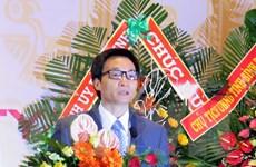 Việt Nam quan tâm tới sự phát triển của nền khoa học