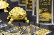 Giá vàng thế giới rơi xuống mức thấp nhất trong 3 tuần qua
