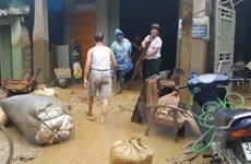Tỉnh Lào Cai tập trung toàn lực để khắc phục hậu quả mưa lũ