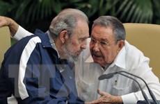 Nhà lãnh đạo Cuba Fidel Castro xuất hiện trước công chúng