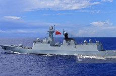 Hải quân Trung Quốc bắt đầu tập trận tại vùng biển Nhật Bản