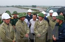 Phó Thủ tướng kiểm tra phòng chống bão ở Hải Phòng, Quảng Ninh