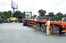 Tai nạn liên hoàn trên cao tốc Nội Bài-Lào Cai, 2 người tử vong