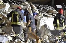 Động đất ở Italy: Còn 60 du khách bị vùi trong một khách sạn