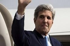 Ngoại trưởng Mỹ John Kerry bắt đầu thăm chính thức Ấn Độ