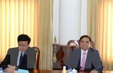 Hai Ban Tổ chức Trung ương Đảng Việt Nam-Lào tăng cường hợp tác