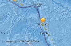 USGS: Xảy ra trận động đất mạnh 6 độ Richter tại Vanuatu