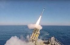 Hệ thống tên lửa Vòm Sắt Israel bắn hạ tên lửa phóng từ Syria
