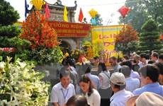 Hơn 300.000 du khách đến với Côn Sơn-Kiếp Bạc trong gần 1 tháng