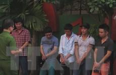 Phát hiện hàng chục thanh niên dùng ma túy trong quán karaoke