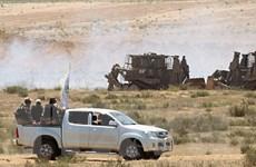Chiến đấu cơ Israel không kích trả đũa vụ bắn rocket từ Gaza