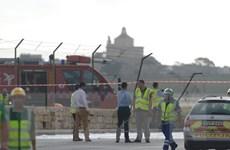 Đã xác định được quốc tịch nạn nhân vụ máy bay gặp nạn ở Malta